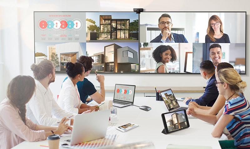 ViewSonic CDE20 ασύρματες οθόνες παρουσίασης