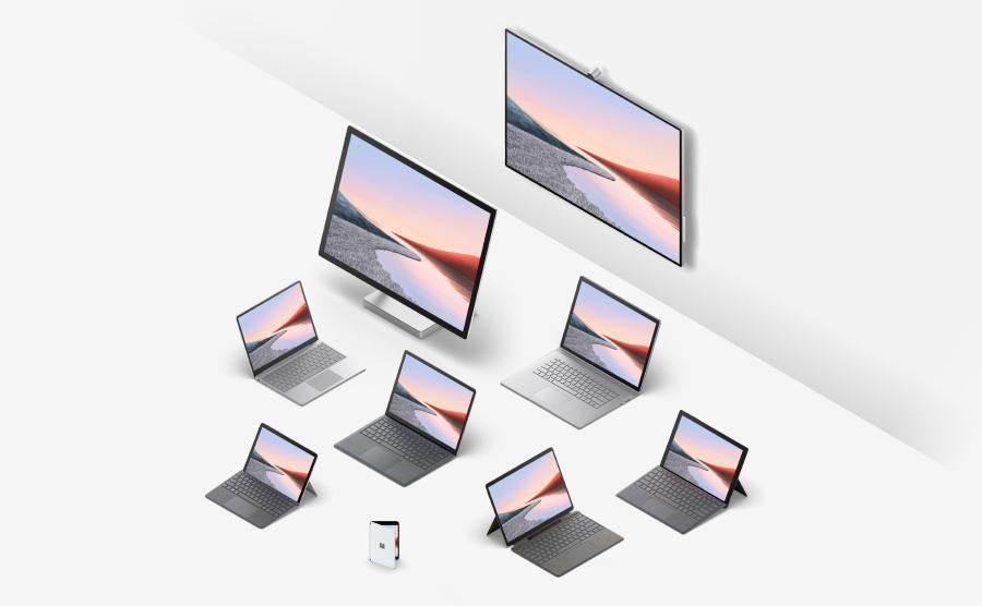 Η οικογένεια προϊόντων Microsoft Surface